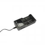 Xtar VC2 - Ladegerät für Li-Ion Akkus inkl. 1 Efest Akku 18650 - 2500mAh 35A