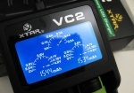 Xtar VC2 - Ladegerät für Li-Ion Akkus inkl. 2/4 Sony Konion US18650VTC6 - 3120mAh, 3,6V - 3,7V (Flat Top)