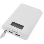 Soshine E3S LCD Power Bank-Ladegerät mit 1,0A/2,1A USB Ausgang und LCD Anzeige