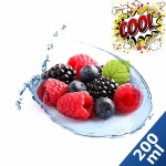 200 ml Liquid MixPack Waldfrucht Cool - 0/3/6/9/12 mg/ml ***GROSSPACKUNG***