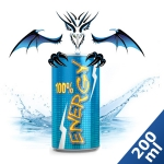 200 ml Liquid MixPack Energy Drink Dragon - 0/3/6/9/12 mg/ml ***GROSSPACKUNG***