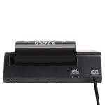 Xtar Queen Ant MC6 LiIon USB-Ladegerät mit 6 Schächten inkl. 2/3/4/6 Efest Akkus 18650 - 3000mAh 35A