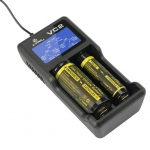 Xtar VC2 - Ladegerät für Li-Ion Akkus 3,6V - 3,7V und NIMH Akkus mit USB Kabel