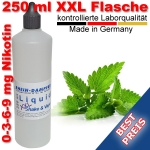Liquid Menthol 250 ml XXL Shake and Vape - Made in Germany