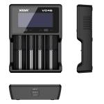 Xtar VC4S - Ladegerät inkl. 2/4 Sony Konion US18650VTC6 - 3120mAh, 3,6V - 3,7V (Flat Top)