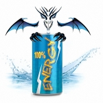 Liquid Energy Drink Dragon MixPack 50+100 ml - 0-3-6-9-12 mg/ml - Made in Germany!